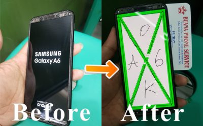 Before After Samsung A5